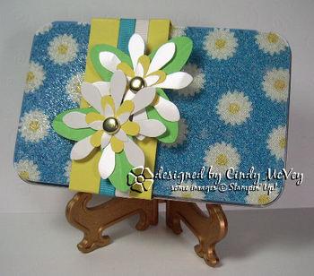 Beaded Gift Card Tin